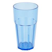 Diamond 16 oz. Blue Polycarbonate Tumbler - 12/Case