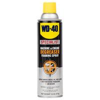 WD-40 Specialist 18 oz. Machine & Engine Degreaser Foaming Spray - 4 / Case