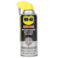WD-40 Specialist 10 oz. Dirt & Dust Resistant Dry Lube PTFE Spray - 6 / Case