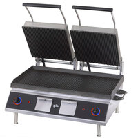 Star CG28IB 14 inchx 28 inch Pro-Max Heavy Duty Grooved Top & Bottom Panini Grill