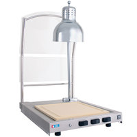 Alto-Shaam CS-100S Heated Single Lamp Carving Station with Sneeze Guard - 120V