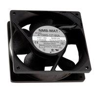 Avantco 17813407 4 11/16 inch x 4 11/16 inch Axial Evaporator Fan - 2900 RPM, 120V, 14.5W