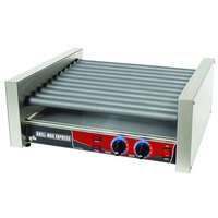 Star Grill Max Express X30S 30 Hot Dog Roller Grill with Duratec Non-Stick Rollers
