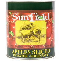 Sliced Apples in Water #10 Can