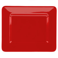 GET ML-11-RSP Red Sensation 12 inch x 10 inch Rectangular Deep Plate - 12 / Case