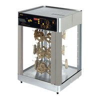 Star HFD3AP 28 1/4 inch Humidified Pretzel Display Case for 112 Pretzels