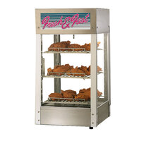Star HFD3ASPT 28 1/4 inch Pass-Through Humidified Display Case with Four Adjustable Shelves