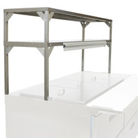 Delfield Stainless Steel Double Overshelf - 32 inch x 16 inch