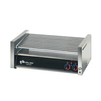 Star 50C-CSA Grill-Max 50 Hot Dog Roller Grill with Chrome Rollers - Slanted (Canadian Use Only)