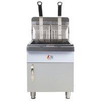 Cooking Performance Group CF30 30 lb. Gas Countertop Fryer - 53,000 BTU
