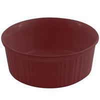 Bon Chef 5054 2.5 Qt. Sandstone Terra Cotta Cast Aluminum Round Casserole Dish