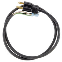 Nemco 46390 Replacement 42 inch Cord Set for Countertop Equipment - 240V, 15A