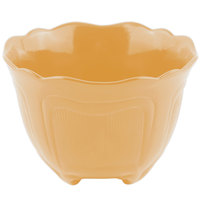 Bon Chef 9060 1.5 Qt. Sandstone Ginger Cast Aluminum Garnish Bowl