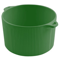 Bon Chef 9145 2 Qt. Sandstone Calypso Green Cast Aluminum Pot with Bail Handle