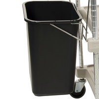 Metro MYWB2 Wastebasket with Holder for myCart MY2030 Carts
