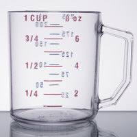 Cambro 25MCCW135 Camwear 1 Cup Clear Measuring Cup