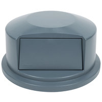 Rubbermaid FG264788 Brute Gray Dome Top for FG264300 Containers 44 Gallon (FG264788GRAY)