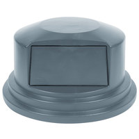 Rubbermaid FG265788 Brute Gray Dome Top for FG265500 Containers 55 Gallon (FG264788GRAY)