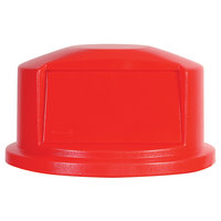 Rubbermaid FG263788 Brute Red Dome Top for FG263200 Containers 32 Gallon (FG263788RED)