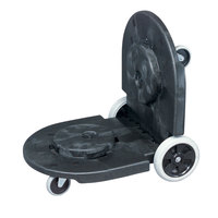 Rubbermaid FG264600 Black Brute Tandem Dolly for FG262000, FG263200, FG264300, FG265500, FG352600, FG353600 Containers (FG264600BLA)