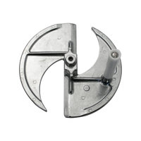 Nemco 55267-6N 3/16 inch Fixed Plate and Handle for Easy Slicer