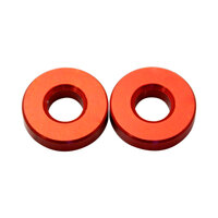 Nemco 55534-2 End Spacer Set for 3/16 inch Easy Onion Slicer - 2 Red Spacers
