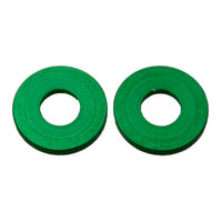 Nemco 55534-6 End Spacer Set for 3/8 inch Easy Onion Slicer - 2 Green Spacers