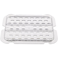 Rubbermaid FG127P24CLR 1/2 Size Clear Drain Tray