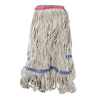 Continental A02511 16 oz. Blend Loop End Natural Mop Head with 1 1/4 inch Band