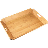 Cal-Mil 958-1-60 22 1/2 inch x 17 inch Bamboo Room Service Tray