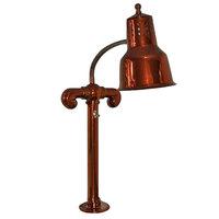 Hanson Heat Lamps SL/FM/SC Smoked Copper Single Bulb Flex Mounted Food Warmer