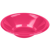 Creative Converting 28177051 12 oz. Hot Magenta Plastic Bowl - 240 / Case