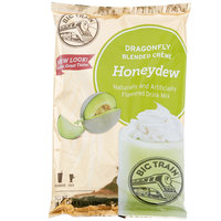 Big Train Dragonfly Honeydew Blended Creme Frappe Mix - 3.5 lb.