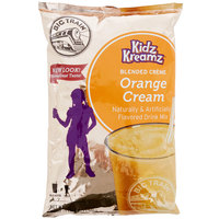 Big Train Orange Cream Kidz Kreamz Frappe Mix - 3.5 lb.