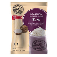 Big Train Dragonfly Taro Blended Creme Frappe Mix - 3.5 lb.