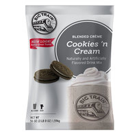Big Train Cookies 'N Cream Blended Creme Frappe Mix - 3.5 lb.