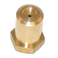 Bakers Pride R3044A  Equivalent Brass Hood Burner Orifice; #56; Natural Gas / Liquid Propane; 3/8 inch-27 Thread; 1/2 inch
