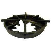 All Points 24-1180 12 3/4 inch x 11 3/4 inch Cast Iron Oval Spider Grate