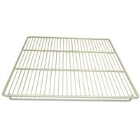 All Points 26-3245 White Epoxy Coated Wire Shelf - 25 1/4 inch x 23 inch