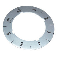 All Points 22-1402 Knob/Dial Insert; Off, Min, 2-6, Max