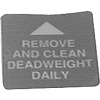 All Points 22-1552 Remove and Clean Deadweight Daily Decal for Fryer