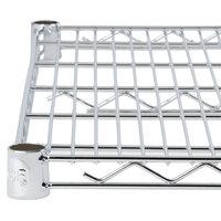 Regency 24 inch x 42 inch NSF Chrome Wire Shelf