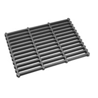 All Points 24-1119 17 1/4 inch x 12 inch Cast Iron Bottom Broiler Grate