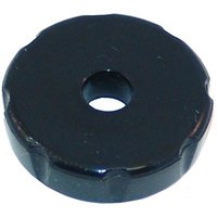 All Points 28-1349 Black Plastic Bonnet with Metal Threads