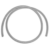 All Points 32-1369 Braided Reinforced Silicone Tubing; 1/4 inch ID x 1/2 inch OD