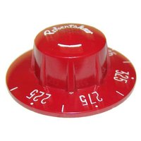 All Points 22-1192 2 1/4 inch Red Fryer Thermostat Dial (225-375)