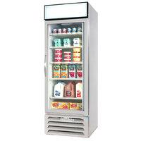 Beverage Air MMR23-1-W White Marketmax Refrigerated Glass Door Merchandiser - 23 Cu. Ft.