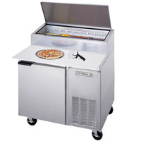 Beverage-Air DP46 46 inch One Door Pizza Prep Table