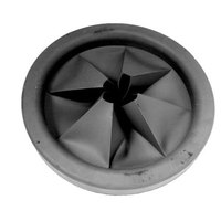 All Points 32-1242 7 1/2 inch Garbage Disposer Splash Guard / Baffle