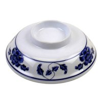 Lotus 5 1/4 inch Melamine Lid for Noodle Bowl - 12/Case